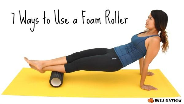 7 Ways to Use a Foam Roller