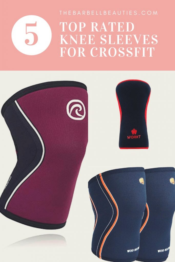 Best CrossFit Knee Sleeves : We polled our readers for their recommendations on knee sleeves. Check out what they say. #crossfit #weightlifting