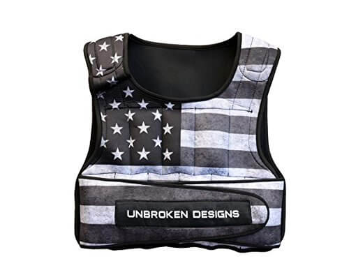 Unbroken Design Weighted Vest