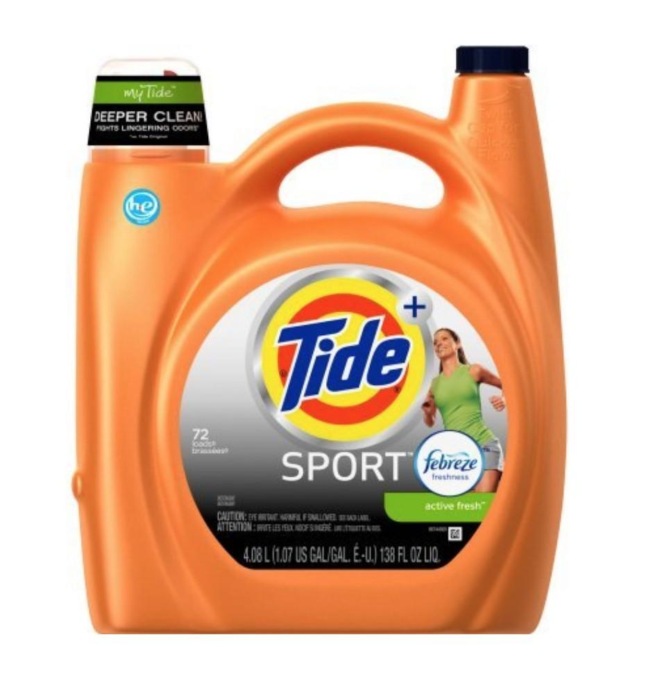 Tide Sports Detergent