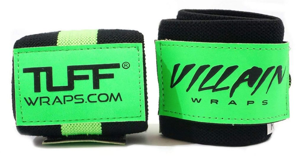 Villain Wrist Wraps for Weightlifting