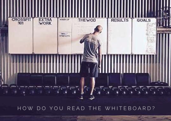 How do YOU read The Whiteboard?