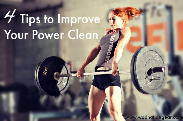 4 Tips to Improve Your Power Clean