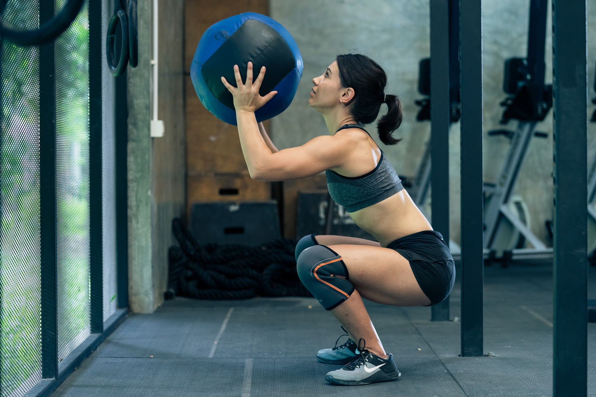 CrossFit 20.5 Open Workout: Muscle ups , Calorie Row and Wall Ball