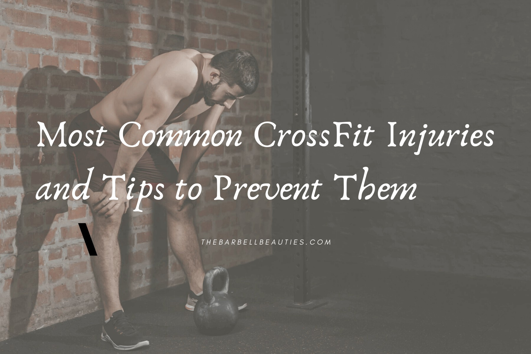 Most Common Fitness Injuries and Tips to Prevent Them
