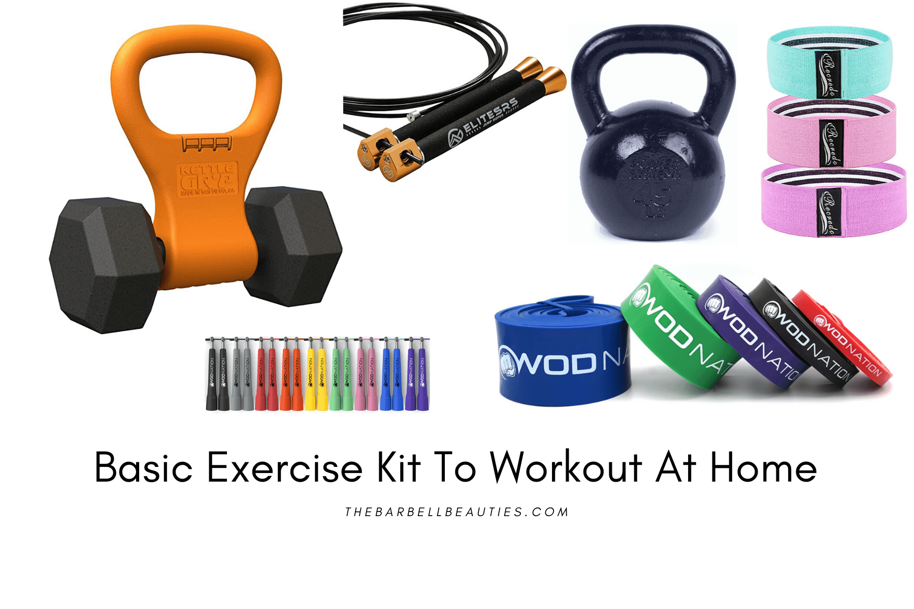 Basic Exercise Kit To Workout At Home